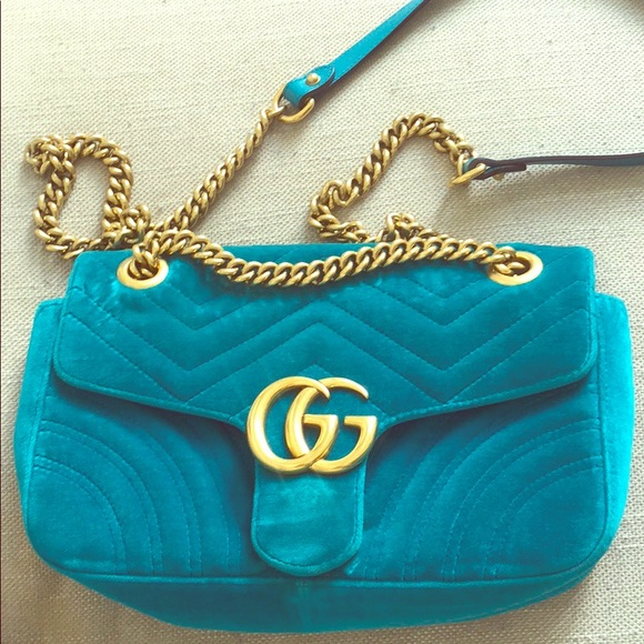 664cb8061ef Gucci GG Marmont velvet shoulder bag